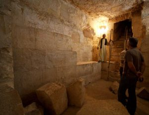 what is inside the pyramids